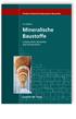 Mineralische Baustoffe