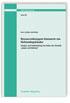 Ressourcenbezogene Kennwerte von Nichtwohngebäuden. Analyse und Aufarbeitung von Daten der Statistik Bauen und Wohnen