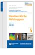Baurechtliche und -technische Themensammlung. Heft 5: Handwerkliche Holztreppen