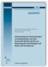 Untersuchung der Auswaschungen von Bauelementen aus Holz, Kunststoff, Metall und Glas zur Bewertung der Auswirkungen auf Boden und Grundwasser. Abschlussbericht