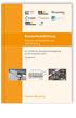 Bauwerksabdichtung - Planung, Qualitätssicherung und Sanierung