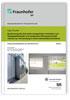 Bestimmung des thermisch-energetischen Verhaltens von Glasdoppelfassaden und temporärer Wärmeschutzmaßnahmen zur Verwendung in einem Monatsbilanzverfahren