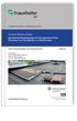 Spezielle Randbedingungen für die hygrothermische Simulation von Flachdächern in Holzbauweise