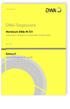 Merkblatt DWA-M 721 Entwurf, Mai 2016. Arbeitsschutz und Hygiene an Einsatzstellen mit Ölprodukten