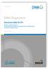 Merkblatt DWA-M 377, November 2016. Biogas - Speichersysteme. Sicherstellung der Gebrauchstauglichkeit und Tragfähigkeit von Membranabdeckungen