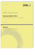 Merkblatt DWA-M 720-1 Entwurf, August 2017. Ölschadenbekämpfung auf Gewässern - Teil 1: Ölsperren