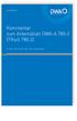 DWA-Kommentar zum Arbeitsblatt DWA-A 780-2 (TRwS 780-2). Technische Regel wassergefährdender Stoffe (TRwS). Oberirdische Rohrleitungen - Teil 2: Rohrleitungen aus glasfaserverstärkten duroplastischen Werkstoffen