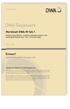 Merkblatt DWA-M 165-1 Entwurf, August 2020. Niederschlag-Abfluss- und Schmutzfrachtmodelle in der Siedlungsentwässerung - Teil 1: Anforderungen
