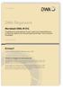 Merkblatt DWA-M 816 Entwurf, September 2020. Projektbewertung betrieblicher Ersatz- und Erneuerungsinvestitionen auf Basis der dynamischen Kostenvergleichsrechnung - eine praktische Arbeitshilfe