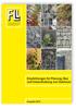 Empfehlungen für Planung, Bau und Instandhaltung von Gabionen. Ausgabe 2012