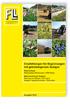 Empfehlungen für Begrünungen mit gebietseigenem Saatgut. Ausgabe Mai 2014