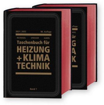 Recknagel - Taschenbuch für Heizung und Klimatechnik 2021/2022 - Basisversion, 2 Bde