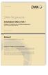 Arbeitsblatt DWA-A 138-1 Entwurf, November 2020. Anlagen zur Versickerung von Niederschlagswasser - Teil 1: Planung, Bau, Betrieb