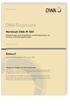 Merkblatt DWA-M 1001 Entwurf, November 2020. Anforderungen an die Qualifikation und die Organisation von Gewässerunterhaltungspflichtigen
