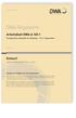 Arbeitsblatt DWA-A 120-1 Entwurf, Mai 2021. Pumpsysteme außerhalb von Gebäuden - Teil 1: Allgemeines
