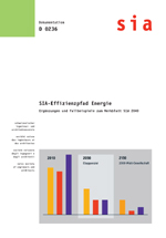 SIA-Effizienzpfad Energie. Ergänzungen und Fallbeispiele zum Merkblatt SIA 2040