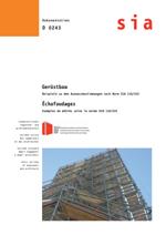 Gerüstbau - Beispiele zu den Aufmaßbestimmungen nach Norm SIA 118/222