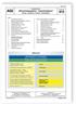 AGI Arbeitsblatt B 13. Industriedächer. Sicherheitsaspekte - Industriedächer. Planung, Ausführung, Nutzung, Instandhaltung. Ausgabe Januar 2016