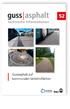 Gussasphalt auf kommunalen Verkehrsflächen