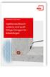 Merkblatt Injektionsschlauchsysteme und quellfähige Einlagen für Arbeitsfugen