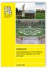 Fachbericht Leistungskatalog für die Erarbeitung Gartendenkmalpflegerischer Zielplanungen