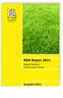 RSM Rasen 2021 - Regel-Saatgut-Mischungen Rasen