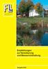 Empfehlungen zur Versickerung und Wasserrückhaltung. Ausgabe 2005