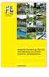 Richtlinien für Planung, Bau und Instandhaltung von privaten Schwimm- und Badeteichen. Ausgabe 2017