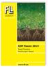 RSM Rasen 2019. Regel-Saatgut-Mischungen Rasen