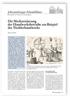 Die Mechanisierung der Handwerksbetriebe am Beispiel des Tischlerhandwerks
