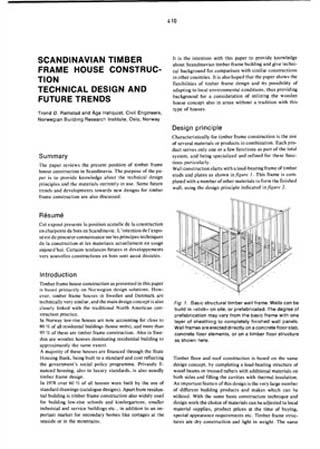Scandinavian Timber Frame House Construction. Technical Design and ...