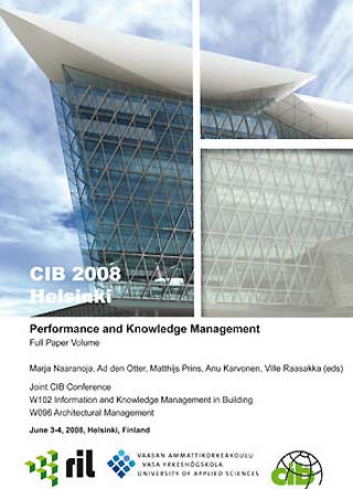 Proceedings of Joint CIB Conference: Performance and